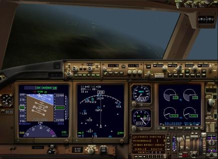 Panel Boeing 777 en X-Plane